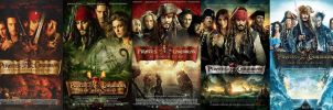 Pirates of the Caribbean Theatrical Posters by The-Dark-Mamba-995
