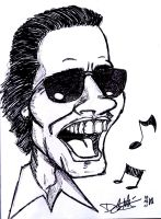 Marc Anthony as El Cantante by Master-Guateke