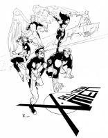 All New X-Men practice by theDougArthur