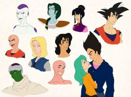 Disneyfied - Dragon Ball Z by scaragh
