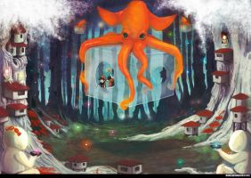 Octo-Tour by Oune