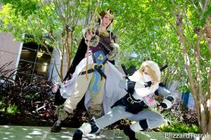 F14 - Mountain Warrior Zelda and Sheik by BlizzardTerrak