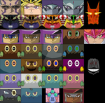 yugioh cubee Set by hollowkingking