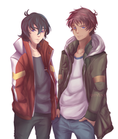 Klance- New Jackets by RhIVenX