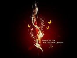 No War For Peace by escord
