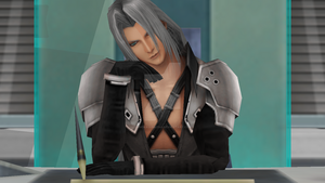 MMD Sephiroth by Littleaerith2140