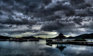 Sun Moon Lake by pacmangeek