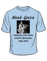 Hank Green T-shirt by lizzyc7