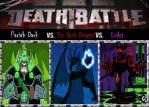 Death Match; The Ghost King vs. The Dragon of Dark by srebak