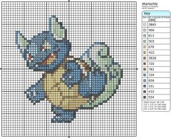 8 - Wartortle by Makibird-Stitching