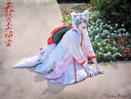 Human Amaterasu Cosplay by Lithe-Fider
