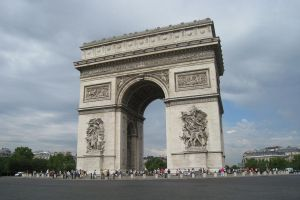 Paris, Arc de Triomphe by elodie50a