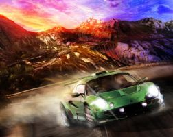 Lotus Elise by Vaan37
