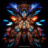 Fractal Ancient Beast by chamathe