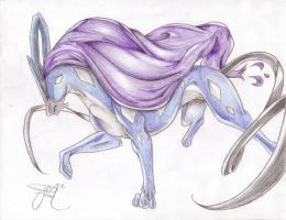 Suicune by FrootLoops2