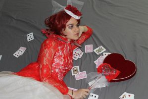 The Red Queen of Hearts 17 by MajesticStock