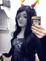 PromStuck!Vriska Serket Cosplay #1 by Jojoleeday