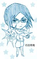 For Ladycompassion: Ishida Uryu Adoptable Chibi! by PeachBerryDivision