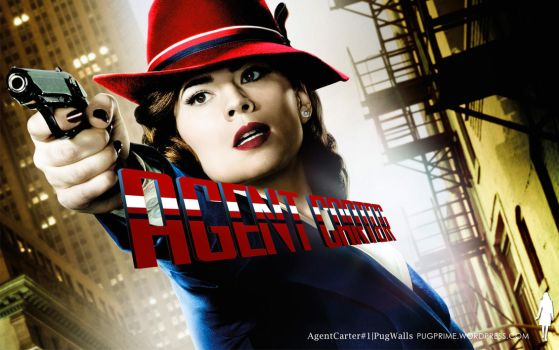 Agent Carter 1 - 1440x900 by PugPrime