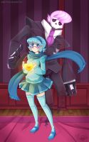 Mystery Skulls Ghost by Erickiwi