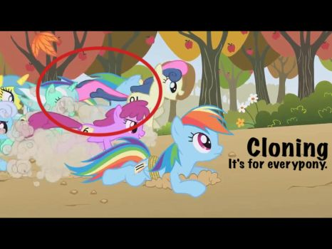 My Little Pony FiM: Cloning by WithinTheCosmos