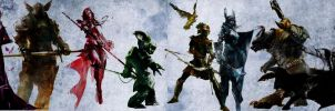 Guild Wars 2 Professions by Bhaal5001