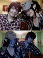 Marceline and Marshall Lee - Closet Cosplays by xHee-Heex