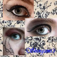 Shingami inspired makeup by thearabellablack
