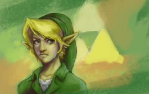 Link the hero by Gabriela-Birchal