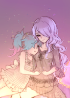 [Commission] Camilla and Pieri by tcong