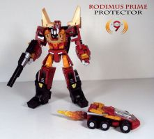 Protector Rodimus Prime by Unicron9