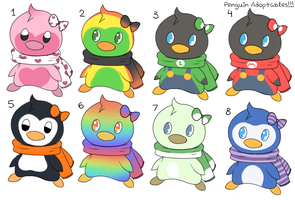 CLOSED Penguin point adoptables! by JellyTheTangrowth