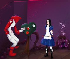 Alice Madness: Painting the Roses Red by missKMC13