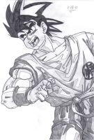 Goku by MeowMaster789