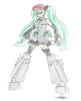 +Soldier Miku+ by Endless-warr