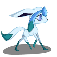 Glaceon by Green-Patch