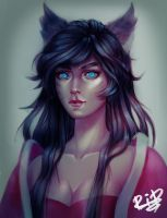 Ahri by Rali-95