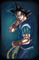 son goku db absalon by salvamakoto