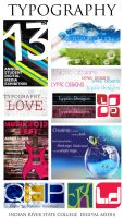 My Typography 2013 by LypticDesigns