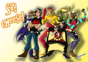 TBBT Young Justice by ADL-art