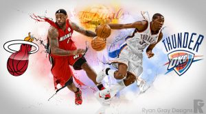NBA Finals 2012 by RGray525
