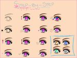 Step-By-Step: Shiny Eyes by TayNatsume