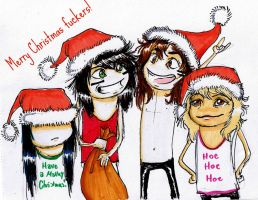 have a motley christmas by Isnabel
