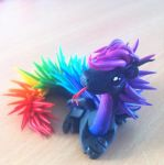 Cool dragons have hair like this by HandmadeDragons