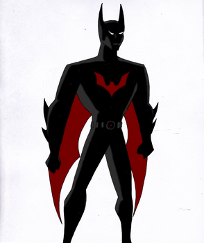 Batman Beyond by ThatTMNTchick