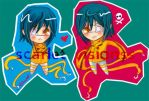 Air Gear Chibi: Akito Agito by scarlet-visions
