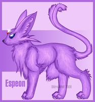 The New and Improved Espeon xD by Shiro-Wolf