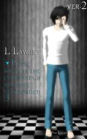 [MMD][DL] L Lawliet.ver.2 by AlionaLawliet