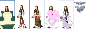 Pokemon Series: Nellys team by Colleen15