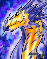 Dragon Bust Electric by TwilightSaint